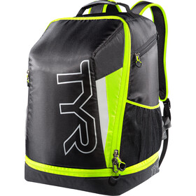 TYR Triathlon Rugzak, black/flou yellow